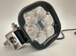 De nouveaux E-MARK 30W 4.4Inch carré LED Osram lampe de travail (GT2012-30W)