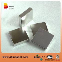 Огромный размер блока постоянного магнита NdFeB готово магнита