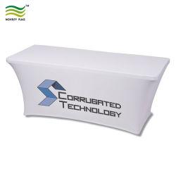 맞춤형 6피트 Ultrafit 스판덱스 테이블 직물 던지기 커버(B-NF18F05010)