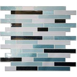 فينيل ورق جدار [سلف-دهسف] [مويستثر رسستنت] في طاووس اللون الأزرق الصين ممون بيع بالجملة