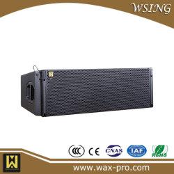 "J8는 이중으로 한다 12 "" 선 배열 PA 스피커 직업적인 단계 오디오 시스템"