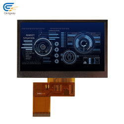 4.3 Polegada 480x272 TFT LCD com IPS Temperatura ampla