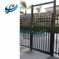 Valla de acero de aluminio Panel cercas de hierro forjado de cerco de malla de alambre para jardín