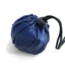 Manier die de van uitstekende kwaliteit van de Gift de Nylon het Winkelen van de Polyester Zakken van de Totalisator vouwen