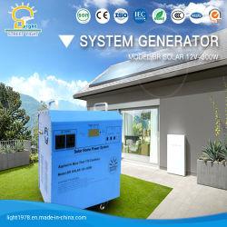 500W het zonneSysteem van de Verlichting voor het Gebruik van het Huis met de Ventilator van gelijkstroom