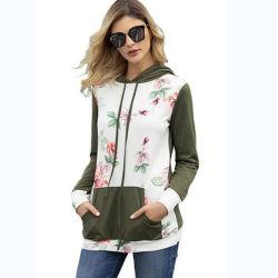 Мода рисунком Pullover спорта клянусь женщин Hoodies повседневный Sweatshirt