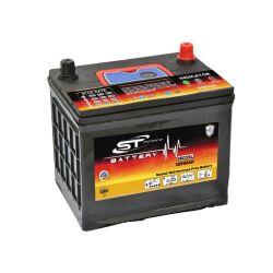 Простота использования корейского Tech 55D23L 12V60Ah Японии автомобильной аккумуляторной батареи