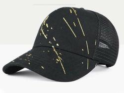 Пропагандистские печатные хлопка купол черный пользовательские спорта работает бейсбола с ячеистой сети