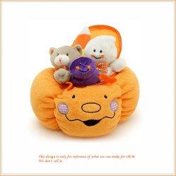 Мягкие тыквы Хэллоуин играть, фаршированные конфеты корзины игрушки