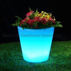16 Modernas Plantadeira de luz LED de mudança de cores / iluminação LED de fantasia Flower Pot para venda