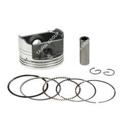 Yamamoto Moto piezas de repuesto (w/anillo de pistón, pin, clip) Kit del pistón (STD) para YAMAHA100 (K120) (55mm) , el acabado negro