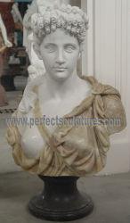 Mezcla de personalizar el Color Nude de tallado de esculturas de Mármol Piedra Onyx hembra Dama Busto estatua (SY-S310)