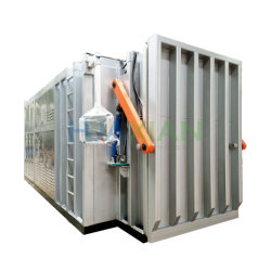2 Paletten Salat Gemüsekale Schnellkühlmaschine, Obst-Vakuum-Kühlmaschine