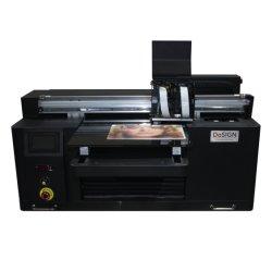 2 het Digitale Mini UV LEIDENE van de Telefoon Geval van hoofden Flatbed Printer