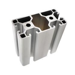 Het zwarte Geanodiseerde Legering v-Ingelaste Aluminium van de Hoek sluit het Uitgedreven Aluminium van het Profiel van het Geval in