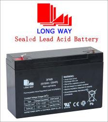 6V9ah機密保護装置の再充電可能な密封されたLead-Acid電池