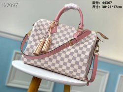 Nova chegada mulheres clássico da marca de luxo a correia original de bolsas de couro real de alta qualidade de forma Popular Neonoe L-*V Bag Lady Neverfull Speedy mala