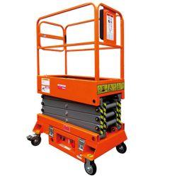 油圧式シザー固定式シザーリフト移動式シザーリフトテーブル油圧式 手動リフト油圧式シザーリフトプラットフォーム移動式シザーリフト車