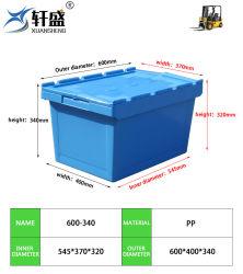 اللوجستيات سعر رخيص صندوق من البلاستيك قيمة للتحرك