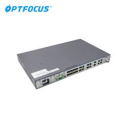 FTTH Council FTTX Uplink 10g de 8 portas SFP+ Porta Pon Gpon Preço Olt Terminal de linha óptica de acesso para os equipamentos de rede de fibra