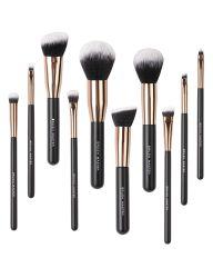 Set Pennello Master Makeup Brushes, Premium Synthetic Kabuki Foundation Face Powder Eyeshadow Blush Lip Cosmetic Brush Kit 10 PZ pronto per la spedizione