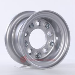 Forlong Wheel Equipamento Industrial jante de roda jante dividida 3.00d-8 5/140/94 Para pneus 5.00-8 para Venda