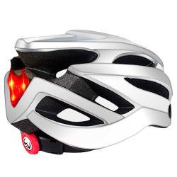 Noite Reflective andava a segurança de bicicletas eléctricas capacete vermelho Road MTB Aluguer de Bicicleta capacete