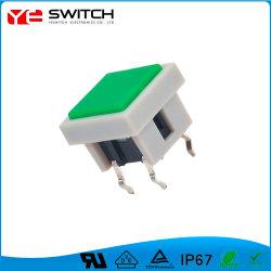 Oberflächenmontierung beleuchteter Presse-Emergency Endtakt-Schalter für Autoteile