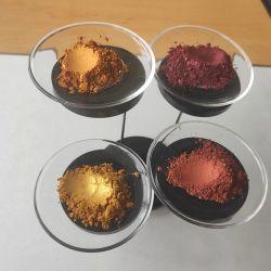 Блестящие цветные пигментные Перламутровый Mica для лак для ногтей и косметический
