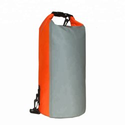 PVC 여행 맞춤형 로고 백팩 캠핑 방수 방수포 팩 아웃도어 롤 탑 드라이 백 접이식 방수 백팩
