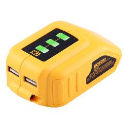 Dewalts李イオン電池のアダプター力のためのUSBのコンバーターの充電器のアダプター
