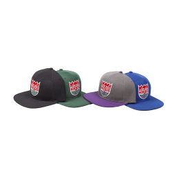 Commerce de gros bouchons Snapback coton classique, de broderie Snapback Hat