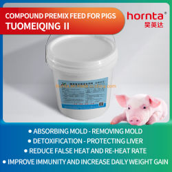 Compuesto de alta calidad Premix alimentación de cerdos absorber las toxinas en la alimentación