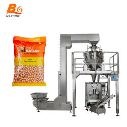 Bgの大きい容量の自動満ちるシーリング機械食糧コーヒー豆の穀物袋の背部シールの包装機械