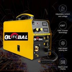 MIG200um poderoso conversor Digital Multifuncional soldadura a gás - máquina de soldar a arco