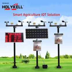 Sistema de riego anemómetro digital de señal de salida de pulsos de aleación de aluminio del sensor de velocidad del viento Sensor de dirección