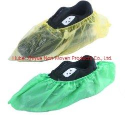南アフリカ共和国熱い販売のプラスチックPE/CPEのポリエチレンのMachine-Made大きいサイズの保護靴カバー