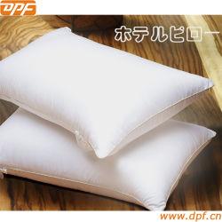 100% algodón cubierta con un 90% plumón de pato en el Hotel Hilton almohadas