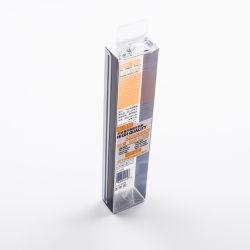 O PVC dobrável de alta qualidade de produtos cosméticos de plástico da caixa de Mini