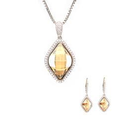 Monili di pietra stabiliti della pietra di alta qualità dei monili d'imitazione del diamante