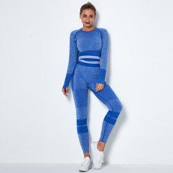 Mode féminine Vêtements Jambières homogène des ports d'usure de Yoga Soutien-gorge de remise en forme Salle de Gym Sports de l'usure