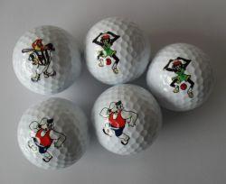 2018 de Professionele In het groot Gemerkte Golfballen van het Embleem
