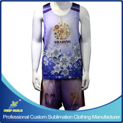 Kundenspezifisches Full Dye Sublimation Knitted Sports Clothes für Lacrosse Game