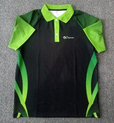 新しいデザインスポーツの摩耗のカスタムロゴの男子ゴルフポロシャツ