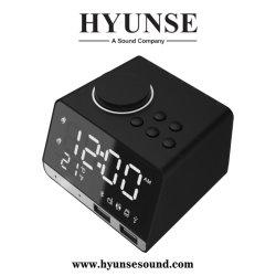 Hyunse Qualität Bluetooth Minilautsprecher LCD-Zeit-Bildschirmanzeige-Alarmuhr-Radio K11
