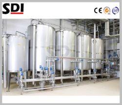 Automatische het roestvrij staal maakt op zijn plaats het Schoonmakende Systeem van de Tank van de Apparatuur CIP schoon