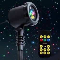 Clin Star douche fête de mariage de feux de lumière laser de Noël de l'Halloween