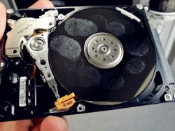 Unidad de disco duro bandeja limpieza/Vídeo de formación