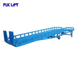 Plkの上昇の油圧移動式容器のトラックのローディングの荷を下すドックの傾斜路