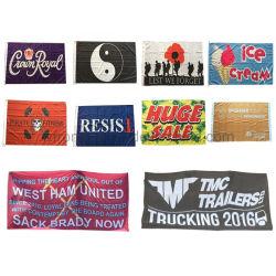 3X5 차 또는 손 또는 Graden/관례 깃발을 인쇄하는 최신 판매 옥외 광고 폴리에스테 디지털